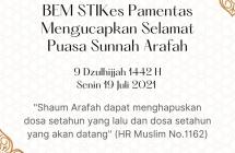 BEM STIKes Pamentas Mengucapkan Selamat Puasa Sunah Arafah