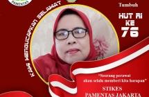 "HUT RI KE 76  ""DIRGAHAYU REPUBLIK INDONESIA"""